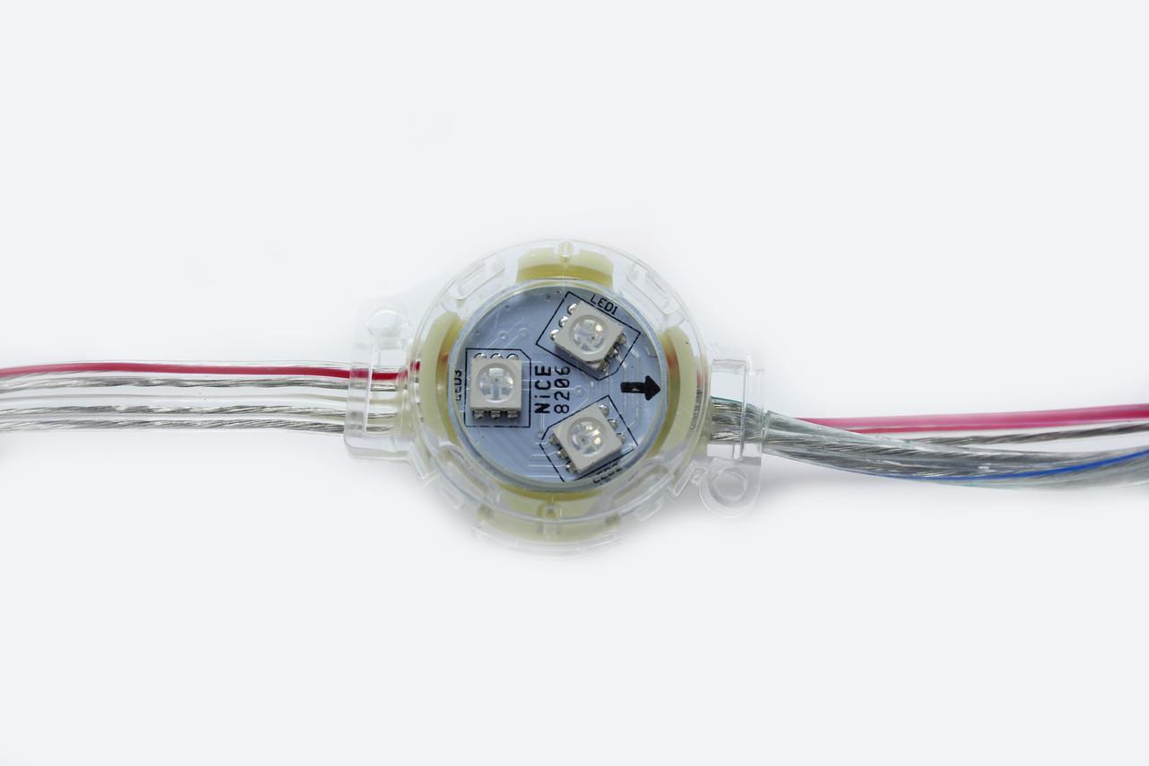 RGBVIC1903 видеодиоды 30мм 12V 3P