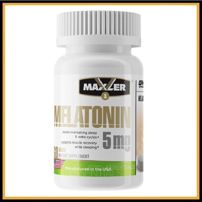 MXL Melatonin 5мг (60tabs)