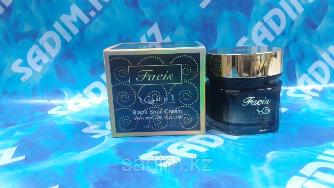 Facis Black Snail Cream - Крем со слизью черной улитки