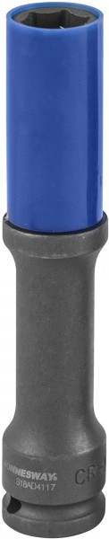 Головка торцевая ударная тонкостенная глубокая для колесных дисков 17 мм S18AD4117