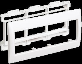 Рамка и супорт на 6 модулей 45х45 для КК 100*40 и 100*60