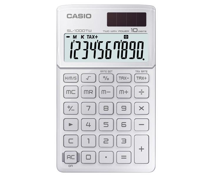 Калькулятор карманный CASIO SL-1000TW-WE-S-EH