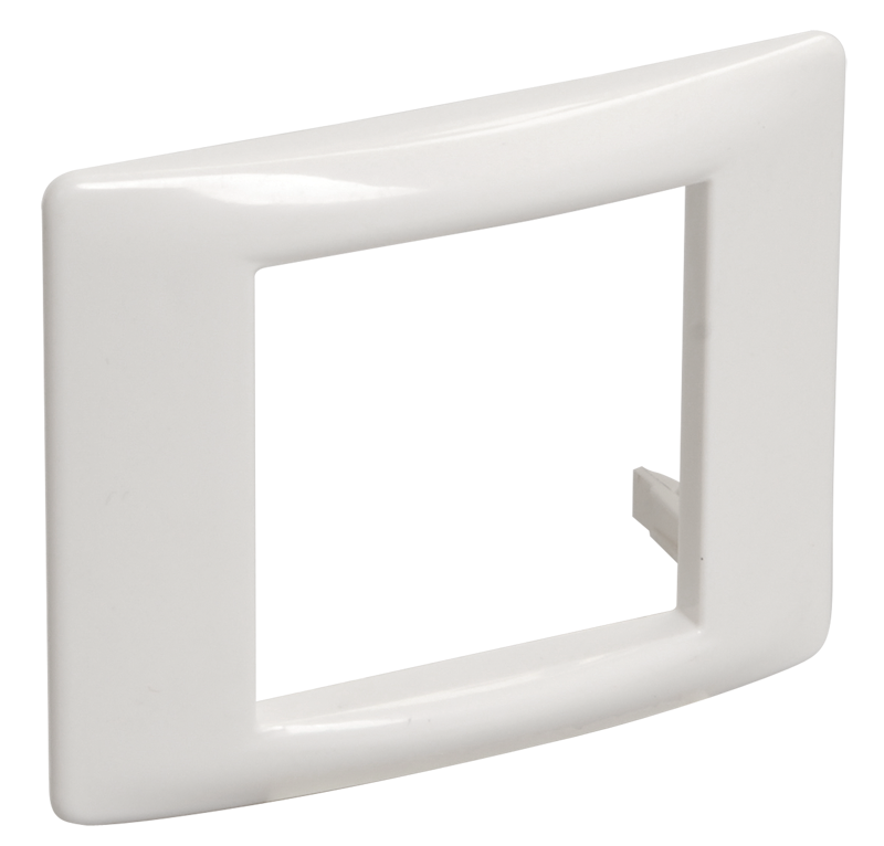 Рамка и суппорт универсальные на 2 модуля белые IEK