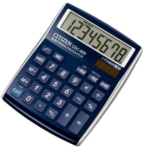 Калькулятор Citizen CDC-80BL-WB