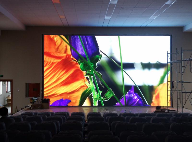 LED экран P4 indoor, размер: 4.096*3.072м-12,59кв.м (256*256мм)
