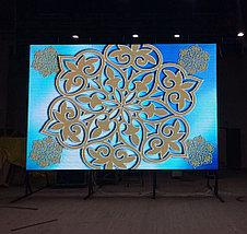 LED экран P4 indoor, размер: 4.096*3.072м-12,59кв.м (256*256мм), фото 3