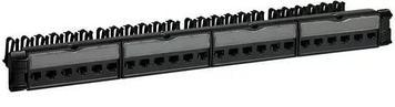 """Панель коммутационная Legrand 19"""", 24хRJ45, 568A/В, UTP, категории 5е, 1U"""