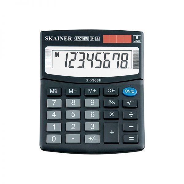 Калькулятор настольный Skainer SK-310 II 10-разрядов, двойное питание (шт.)