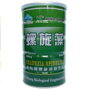 Натуральная спирулина в таблетках 25гр. 2000 таблеток