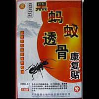 Костный пластырь из черных муравьев 999    4шт.
