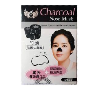 Маска для носа Черный бамбук 10 шт