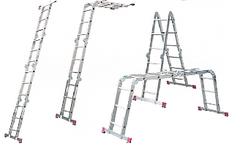 Лестницы шарнирные (лестница-трансформер)