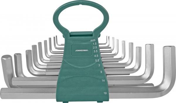 Набор ключей торцевых шестигранных удлиненных, 18 предметов H02MH118S