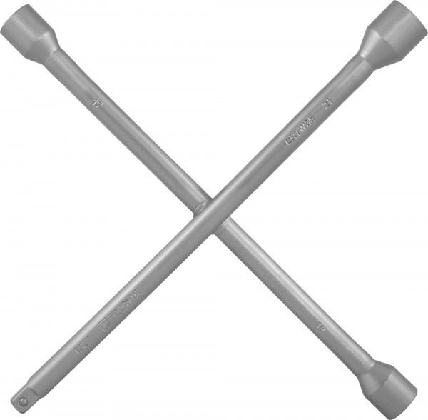 "Ключ баллонный крестообразный 17х19х21x1/2""DR, 350 мм CRTW35"