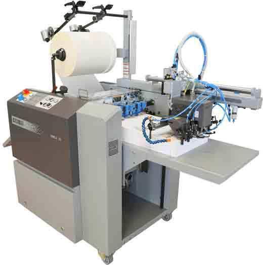 Автоматический ламинатор Komfi AMIFA 36A 2012г для цифровой печати