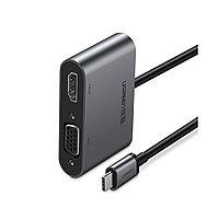 USB Type C -  HDMI/VGA Адаптер +PD, фото 1