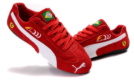 Кроссовки Puma Ferrari Felipe Massa замшевые , фото 2