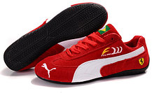 Кроссовки Puma Ferrari Felipe Massa замшевые , фото 3