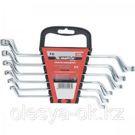 Набор ключей накидных 6 шт, 6-17 мм. MATRIX Master, фото 2