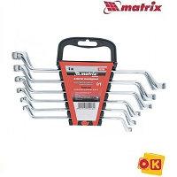 Набор ключей накидных 6 шт, 6-17 мм. MATRIX Master