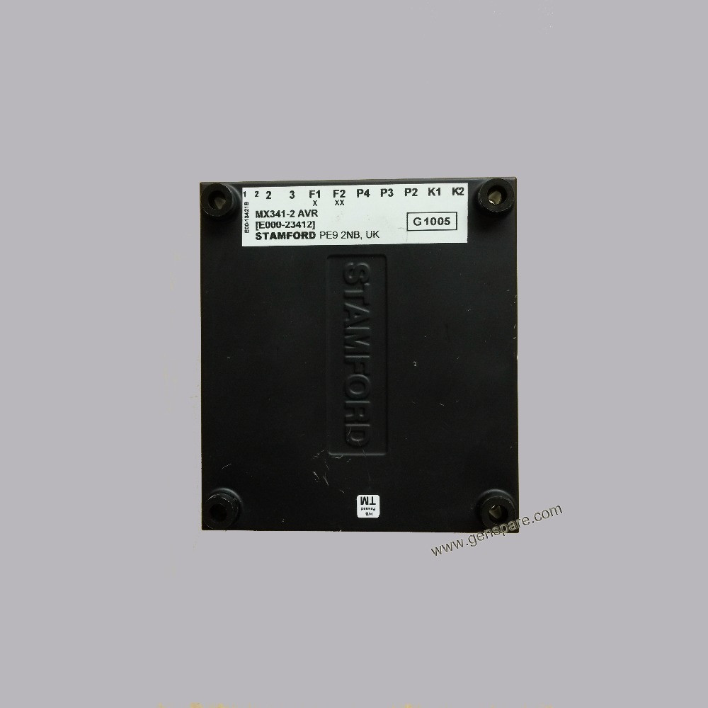 Оригинал STAFMORD MX342 AVR / Подлинная STAMFORD AVK Автоматический регулятор напряжения MX342 (E000-23422 / 1