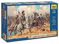 Сборная модель набор солдатиков Саксонские кирасиры 1810-1814 г.г., фото 1