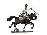 Сборная модель набор солдатиков Саксонские кирасиры 1810-1814 г.г., фото 3
