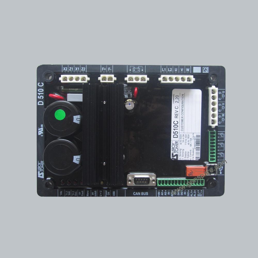 Leroy Somer D510 AVR Автоматический регулятор напряжения D510C