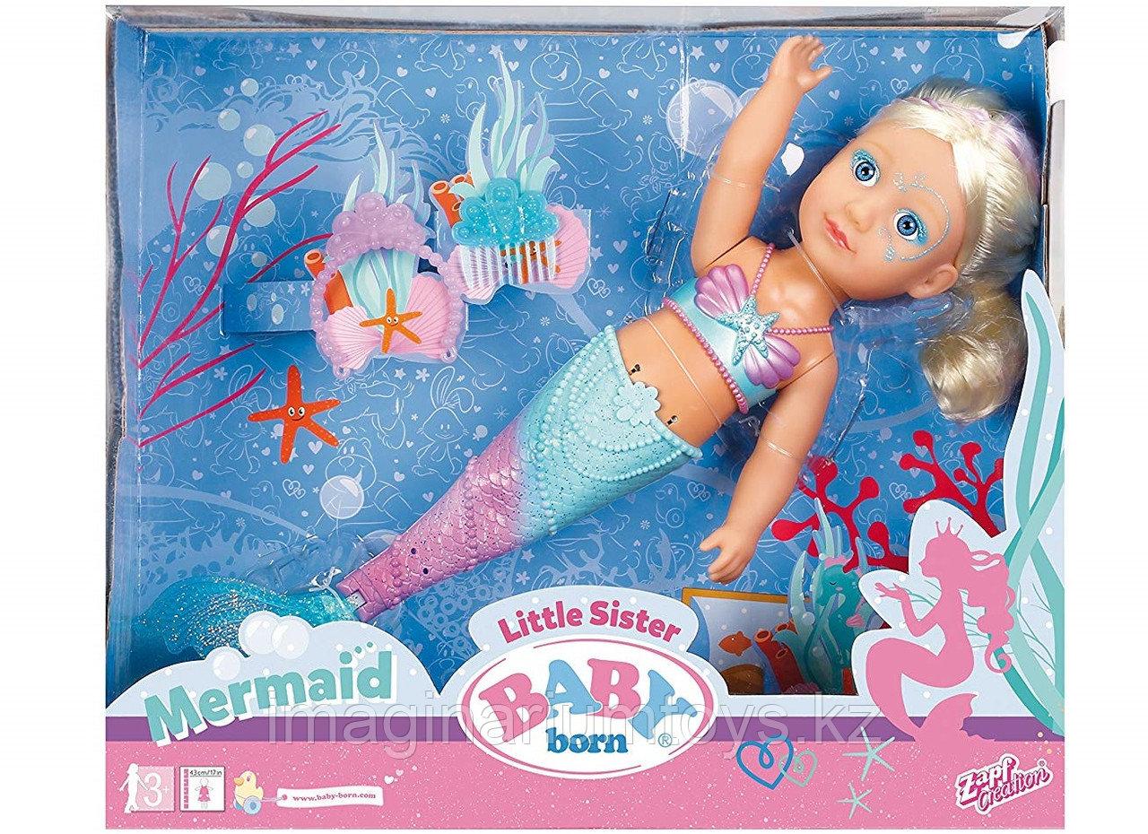 Baby Born кукла сестричка Русалочка 43 см - фото 1