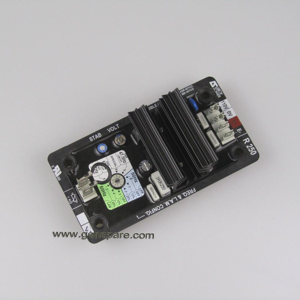 Оригинал Leroy Somer R220 AVR / Подлинная Leroy Somer Автоматический регулятор напряжения R220