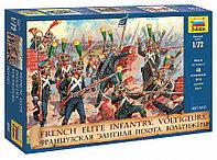 Набор солдатиков Сборная модель Французская элитная пехота. Вольтижеры, фото 1