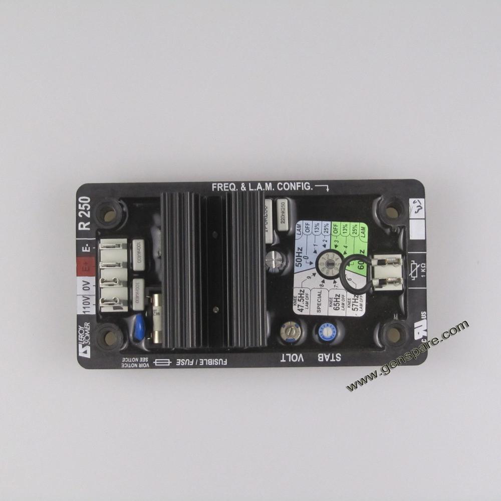 Оригинальный Leroy Somer R250 AVR / Автоматический регулятор напряжения R250