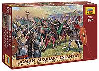 Сборная модель Римская вспомогательная пехота I-II века 1\72, Звезда, фото 1