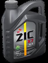 Синтетическое моторное масло ZIC X7 Diesel 5w30 4л
