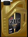 Синтетическое моторное масло ZIC TOP 0w40 4л