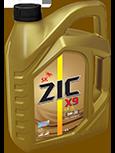 Синтетическое моторное масло ZIC X9 5w30 4л