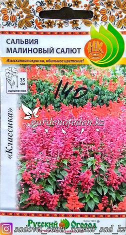 """Семена пакетированные Русский Огород. Сальвия """"Малиновый Салют"""", фото 2"""