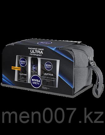Nivea Men (Подарочный набор Ultra с косметичкой)