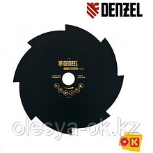 Диск для триммера, 230 х 25,4 мм, толщина 1,6 мм, 8 лезвий. DENZEL