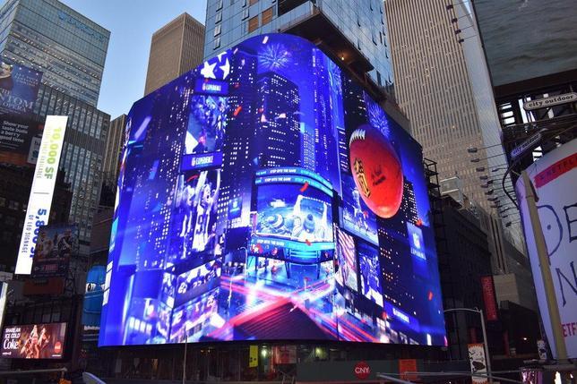 LED- экран SMD р10, размер: 1,92м*3,84м (960мм*960мм) OUTDOOR, фото 2