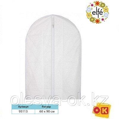 Чехол для хранения одежды на молнии, PEVA, 60 х 90 см. Elfe, фото 2