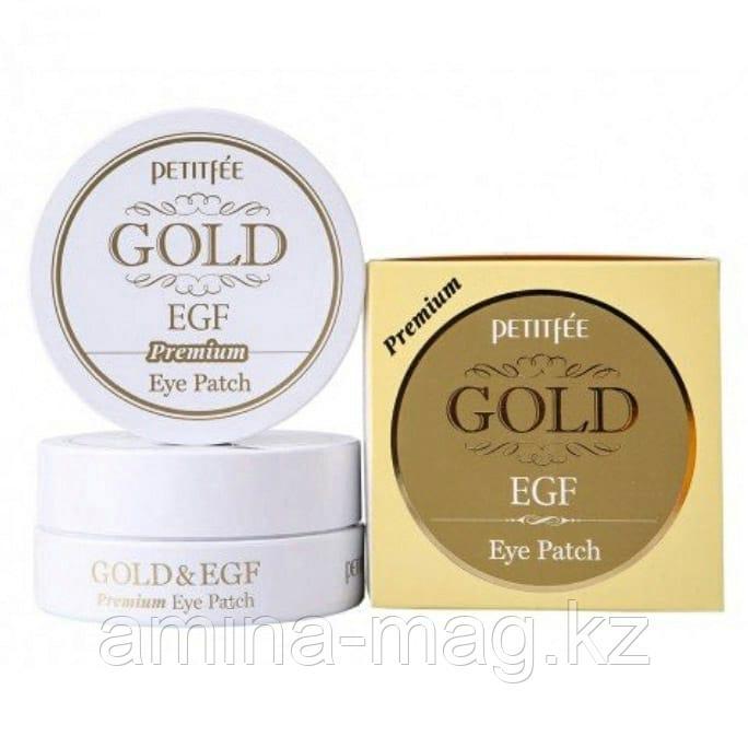 Гидрогелевые патчи для век Petitfee Premium Gold & EGF Eye Patch (60 шт)
