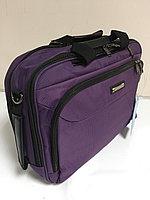 Портфель-рюкзак(трансформер)  с отделом под 16-ти дюймовый ноутбук.Высота 31см,длина 43см,ширина 9см., фото 1