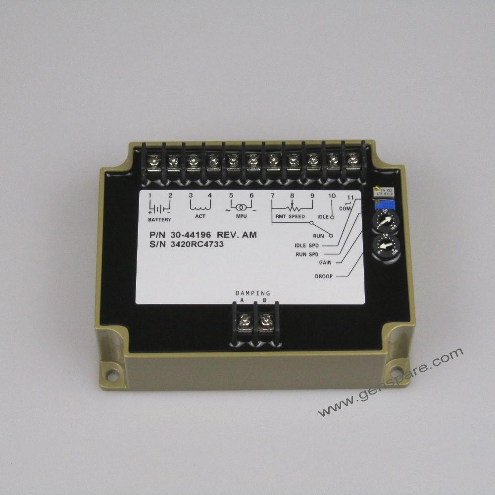 Регулятор скорости генератора / Блок управления скоростью EFC 3044196