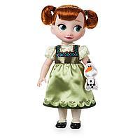 Кукла Анна в детстве Дисней Аниматор