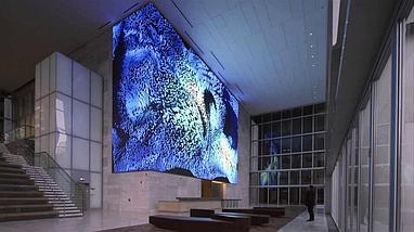 LED экран P4 indoor, размер: 2,05м*1,536м-3,15кв/м  (256мм*256мм), фото 3