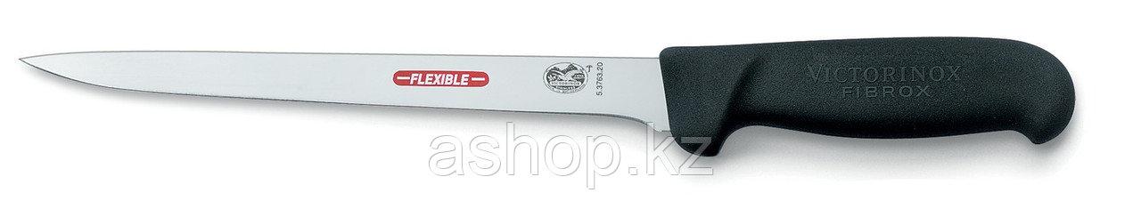 Нож филейный Victorinox Filleting  Knife, Общая длина: 340 мм, Длина клинка: 200 мм, Материал клинка: Нержавею