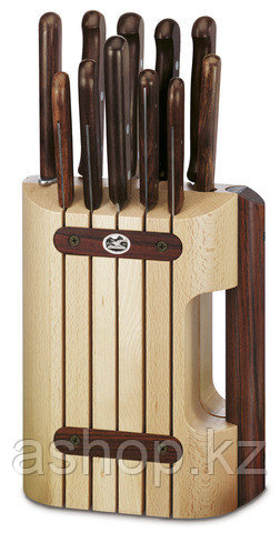 Набор ножей кухонных Victorinox Cutlery Block Rosewood, Материал клинка: Нержавеющая сталь, Материал рукояти:
