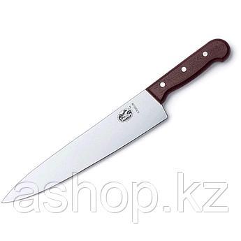 Нож разделочный Victorinox Carving Knife Rosewood, Длина клинка: 310 мм, Материал клинка: Нержавеющая сталь, М