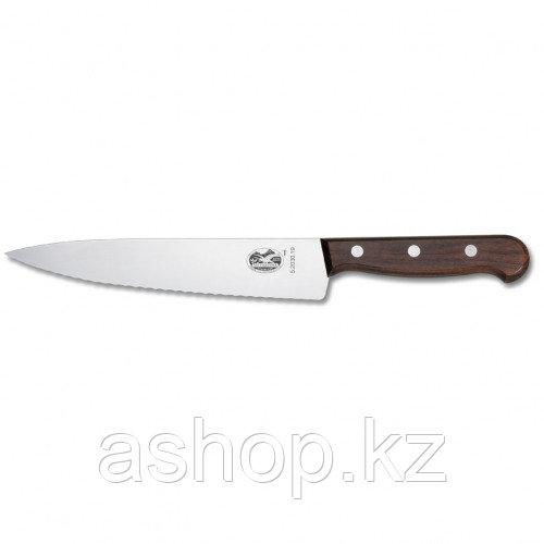 Нож разделочный Victorinox Carving Knife Serrated Rosewood, Длина клинка: 220 мм, Материал клинка: Нержавеющая